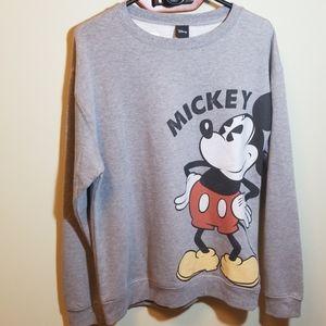 Oversized Mickey sweatshirt